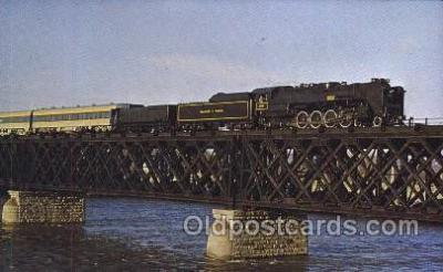 tra006140 - Delaware and Hudson Railway Train Trains Locomotive, Steam Engine,  Postcard Postcards