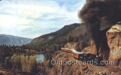 tra006141 - Train Trains Locomotive, Steam Engine,  Postcard Postcards