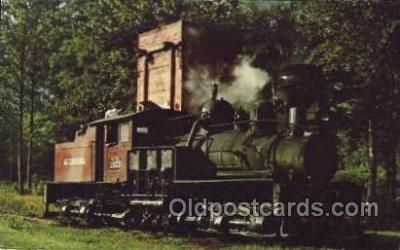 tra006142 - Graham County Train Trains Locomotive, Steam Engine,  Postcard Postcards