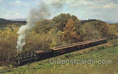 tra006143 - East Broad Top Railroad, Pa, Usa Train Trains Locomotive, Steam Engine,  Postcard Postcards
