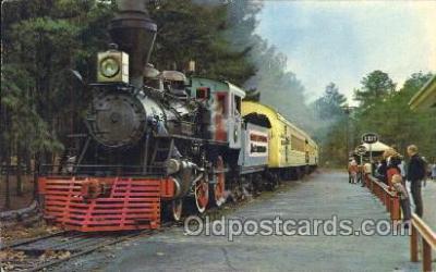 tra006150 - Stone Mountain, Georgia Train Trains Locomotive, Steam Engine,  Postcard Postcards
