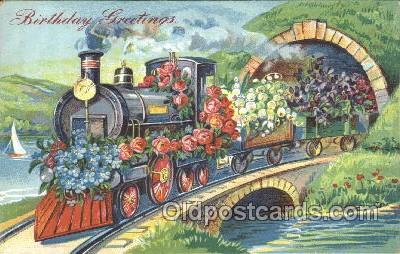 tra006174 - Train Trains Locomotive, Steam Engine,  Postcard Postcards