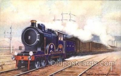 tra006180 - Great Eastern Express Train Trains Locomotive, Steam Engine,  Postcard Postcards