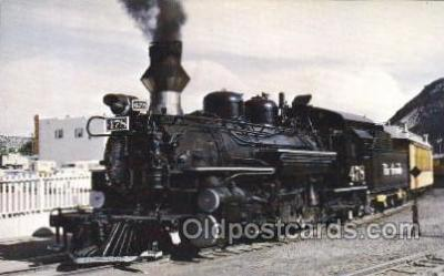 tra006219 - Grande Western Railroad Train Trains Locomotive, Steam Engine,  Postcard Postcards