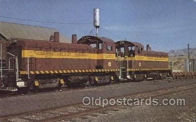tra006222 - Carbon County Railroad Train Trains Locomotive, Steam Engine,  Postcard Postcards