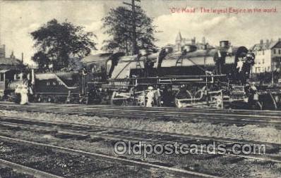 tra006236 - Old Maud Train Trains Locomotive, Steam Engine,  Postcard Postcards