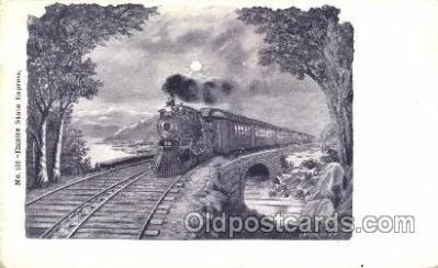 tra006250 - Empire State Express Train Trains Locomotive, Steam Engine,  Postcard Postcards