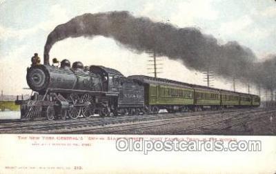 tra006284 - Empire State Express Train Trains Locomotive, Steam Engine,  Postcard Postcards