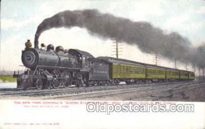 tra006297 - Empire State Express Train Trains Locomotive, Steam Engine,  Postcard Postcards