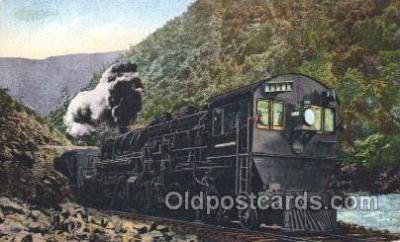 tra006306 - Train Trains Locomotive, Steam Engine,  Postcard Postcards