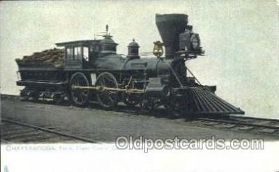 tra006318 - Chattanooga, Tenn, Usa Train Trains Locomotive, Steam Engine,  Postcard Postcards
