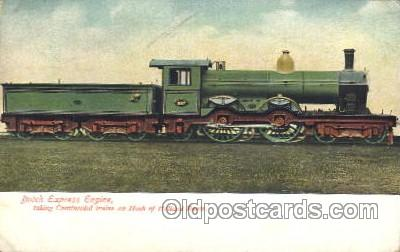 tra006324 - Dutch Express Engine Train Trains Locomotive, Steam Engine,  Postcard Postcards