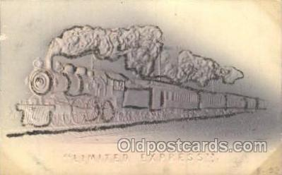 tra006337 - Limited Express Train Trains Locomotive, Steam Engine,  Postcard Postcards