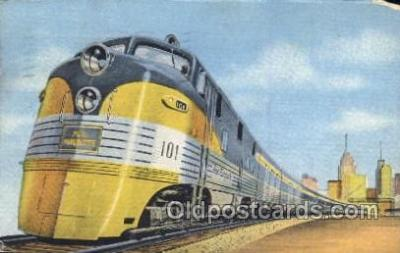 tra006338 - The Pere Marquettes Train Trains Locomotive, Steam Engine,  Postcard Postcards