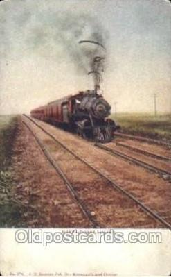 tra006340 - North Coast Limited Train Trains Locomotive, Steam Engine,  Postcard Postcards