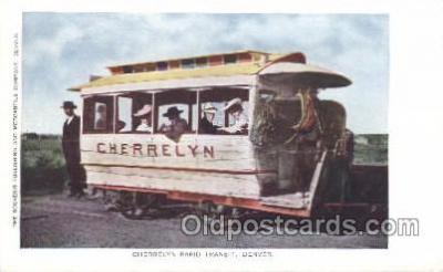 tra006346 - Cherrelyn Rapid Transit Denver Colorado USA Train Trains Locomotive, Steam Engine,  Postcard Postcards