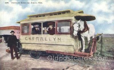 tra006347 - Cherrelyn Rapid Transit Denver Colorado USA Train Trains Locomotive, Steam Engine,  Postcard Postcards