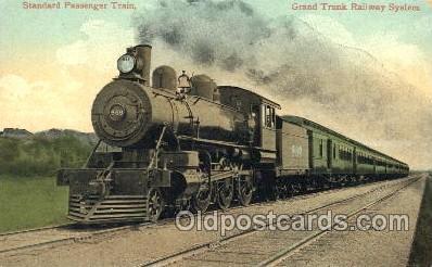 tra006368 - Grand Trunk Railway System Train Trains Locomotive, Steam Engine,  Postcard Postcards