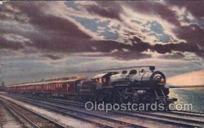 tra006373 - The Twentieth Century limited Train Trains Locomotive, Steam Engine,  Postcard Postcards