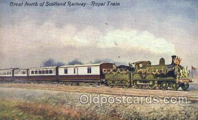 tra006400 - Great North, Scotland Railway Train Trains Locomotive, Steam Engine,  Postcard Postcards