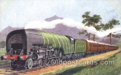 tra006401 - Train Trains Locomotive, Steam Engine,  Postcard Postcards