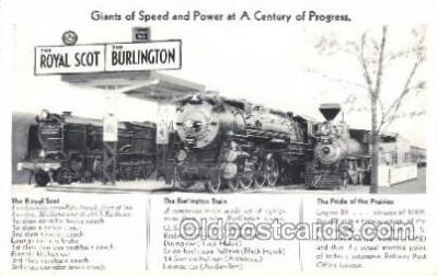 tra006404 - Train Trains Locomotive, Steam Engine,  Postcard Postcards