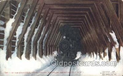tra006415 - Sierra Nevada Train Trains Locomotive, Steam Engine,  Postcard Postcards