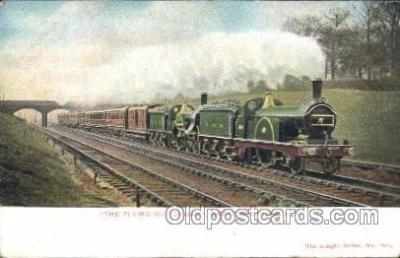 tra006418 - Fyling Scotchman Train Great Northern RLY Trains Locomotive, Steam Engine,  Postcard Postcards