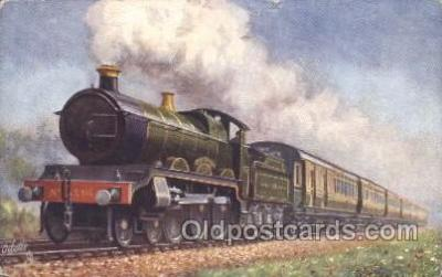 tra006423 - Raphael Tuck & Sons The Cornish Express Train Trains Locomotive, Steam Engine,  Postcard Postcards