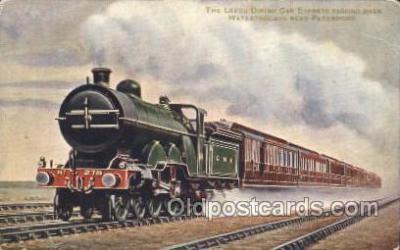 tra006454 - Train Trains Locomotive, Steam Engine,  Postcard Postcards