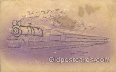 tra006473 - Limited Express Train Trains Locomotive, Steam Engine,  Postcard Postcards
