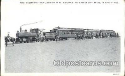 tra006484 - Rio Grande City, Texas, USA Train Trains Locomotive, Steam Engine,  Postcard Postcards