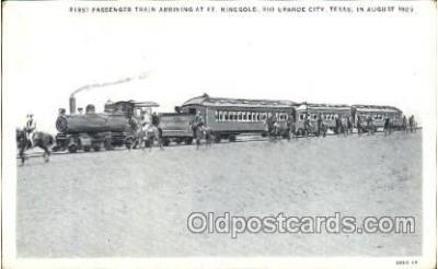 tra006484 - Rio Grande City, Texas, USA Train Trains Locomotive, Steam Engine,  Postcard Postcards