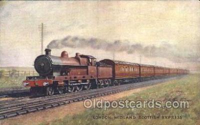 tra006493 - Raphael Tuck & Sons London Brighton and South Coast Express Train Trains Locomotive, Steam Engine,  Postcard Postcards