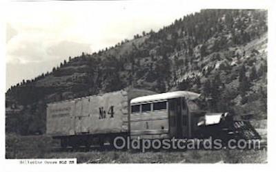 tra006521 - Galloping Goose RGS Train, Trains, Railroad, Railroads Postcard Postcards