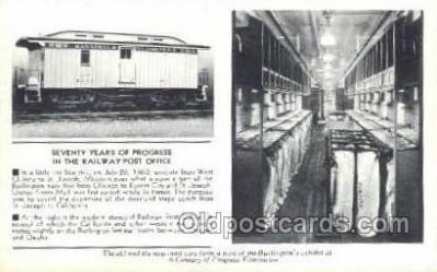 tra006537 - St Joseph MI USA Train, Trains, Locomotive, Old Vintage Antique Postcard Post Card