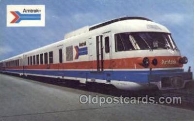tra006543 - Amtrak  Train, Trains, Locomotive, Old Vintage Antique Postcard Post Card