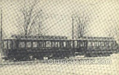 tra006584 - LRC no 3021, Cleveland, OH USA Train, Trains, Locomotive, Old Vintage Antique Postcard Post Card