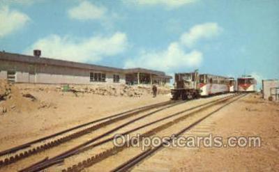 tra006589 - Cog Trains, Pikes Peak, CO USA Train, Trains, Locomotive, Old Vintage Antique Postcard Post Card