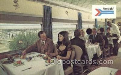tra006597 - Amtrak  Train, Trains, Locomotive, Old Vintage Antique Postcard Post Card