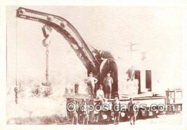 tra006599 - Train, Trains, Locomotive, Old Vintage Antique Postcard Post Card
