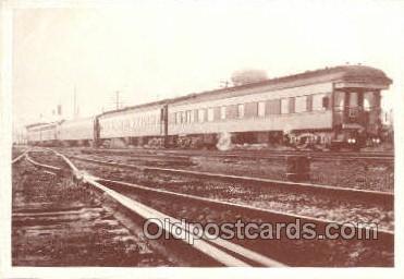 tra006616 - Train, Trains, Locomotive, Old Vintage Antique Postcard Post Card