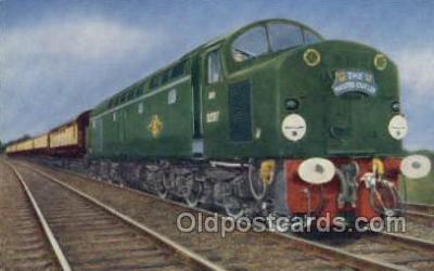 tra006619 - Master Cutler, Kings Kross, UK Train, Trains, Locomotive, Old Vintage Antique Postcard Post Card