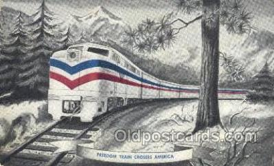 tra006623 - Freedom Train USA Train, Trains, Locomotive, Old Vintage Antique Postcard Post Card