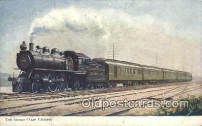 tra006627 - Empire Express , Buffalo, NY USA Train, Trains, Locomotive, Old Vintage Antique Postcard Post Card
