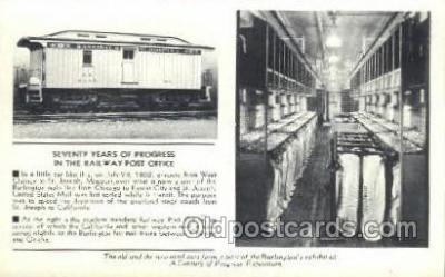 tra006629 - St Joseph MI USA Train, Trains, Locomotive, Old Vintage Antique Postcard Post Card