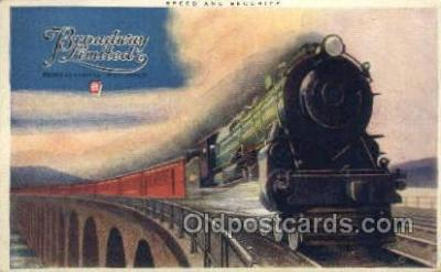 tra006637 - Broadway Limited, PA USA Train, Trains, Locomotive, Old Vintage Antique Postcard Post Card