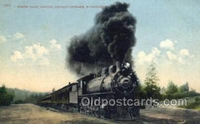 tra006659 - North Coast Limited, Spokane, WA USA Train, Trains, Locomotive, Old Vintage Antique Postcard Post Card
