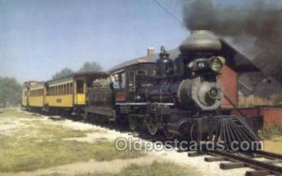 tra006665 - Midwest Old Settlers, Mt Pleasant, IO USA Train, Trains, Locomotive, Old Vintage Antique Postcard Post Card