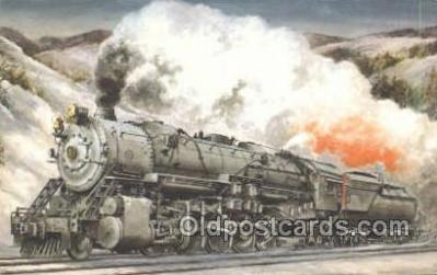 tra006689 - The 6150 Class s1, OH USA Train, Trains, Locomotive, Old Vintage Antique Postcard Post Card